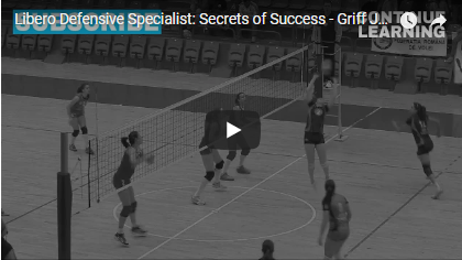 digging the volleyball secrets of success the libero