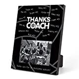 framed volleyball gift plaque for coach
